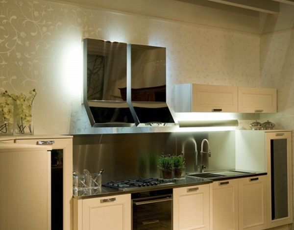 Kitchen wall extractor