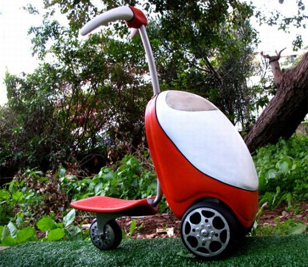 Lawnmower scooter