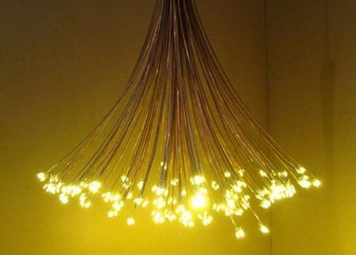LED Constellation Chandelier