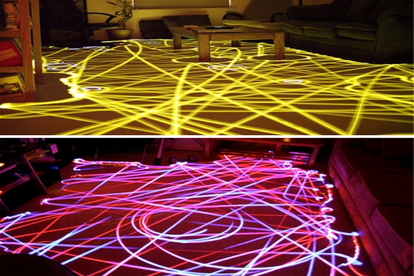 LED light patterns