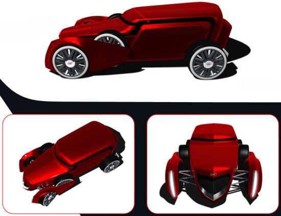lm gngstr biofuel powered concept car 2
