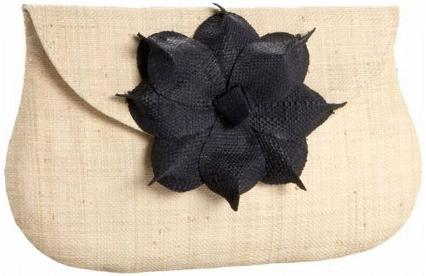 Mad Imports Gigi Flower Clutch