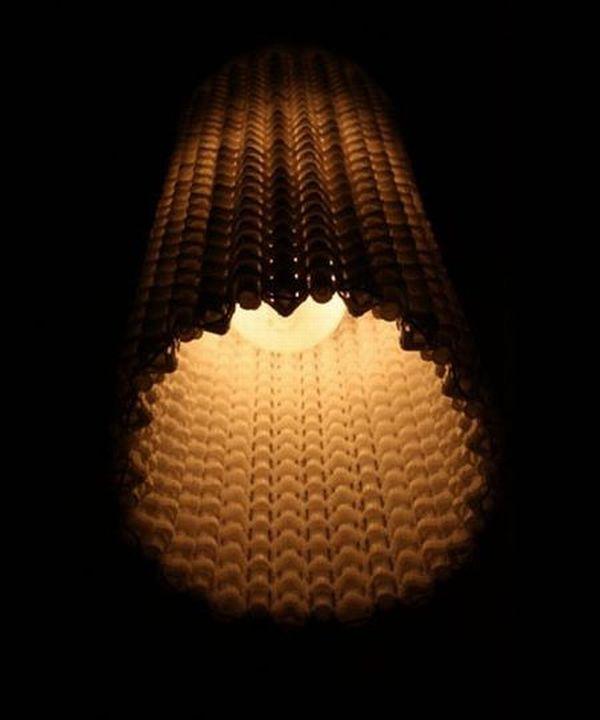 Mesmeric keyboard lamp