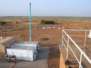 mobile climate monitoring facility
