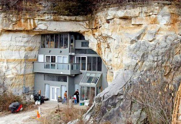Modern Cave House Missouri