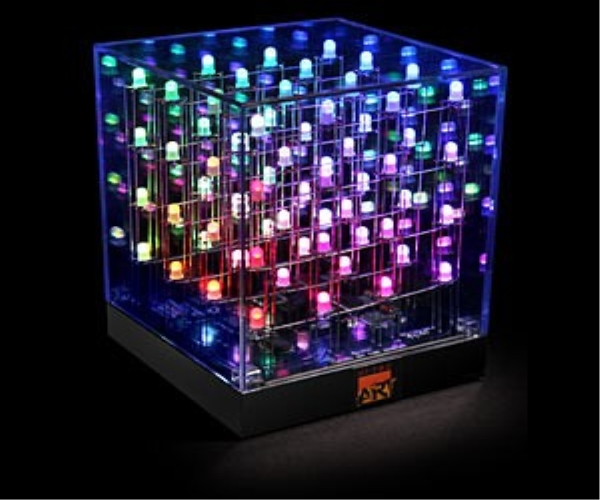 Multicolored LED Cube
