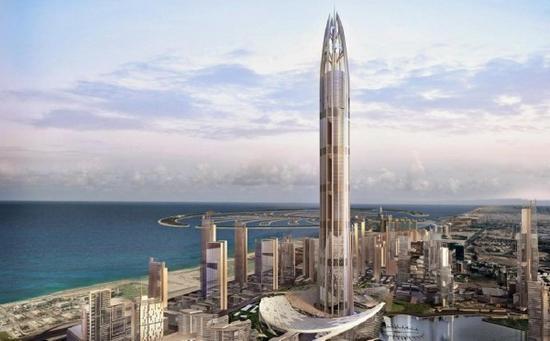 nakheel harbour tower in dubai will be the tallest
