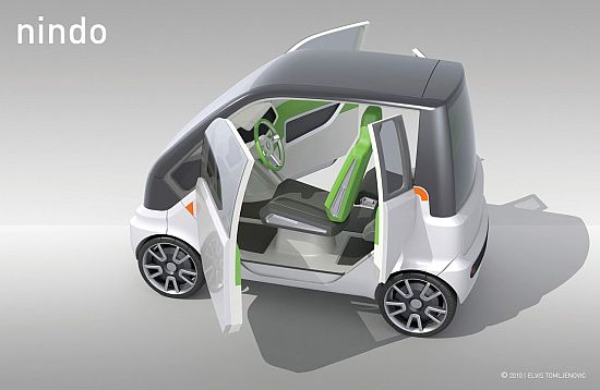 nindo concept electric car 2