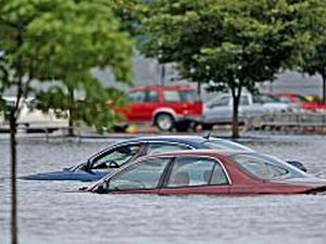 northeast with flooding mudslides