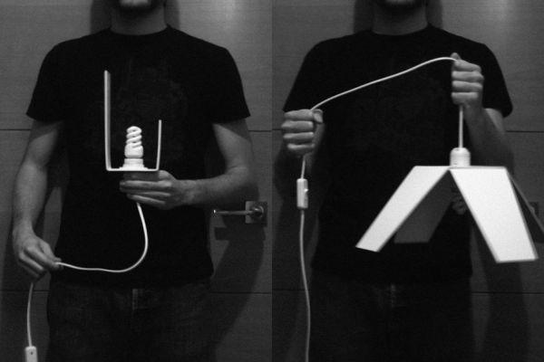 origami lamp 2
