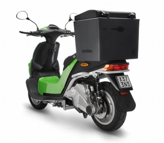 oxygen electric cargoscooter