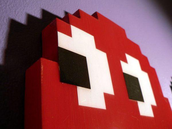 Pac Man Wall Hanging