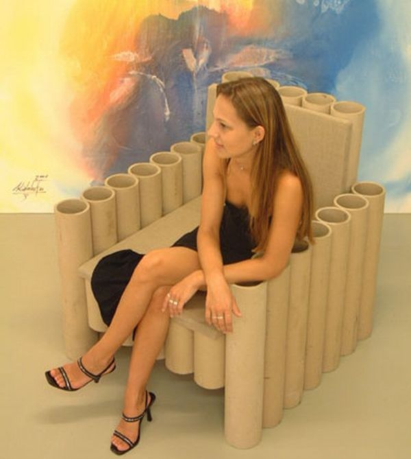 paper tube chair 3