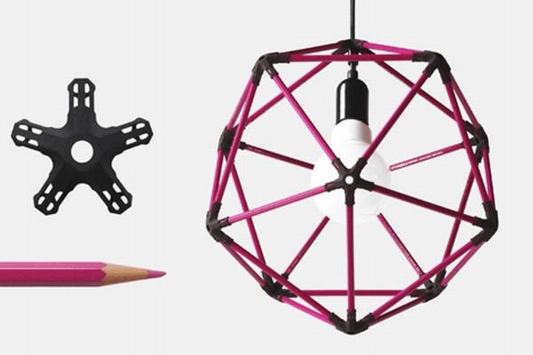 pencil icosahedrons