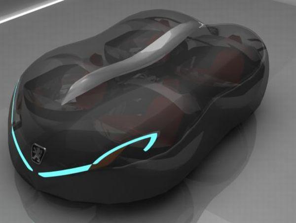 Peugeot Globule shape-shifting electric car