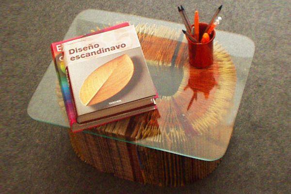 Phone Book Coffee Table