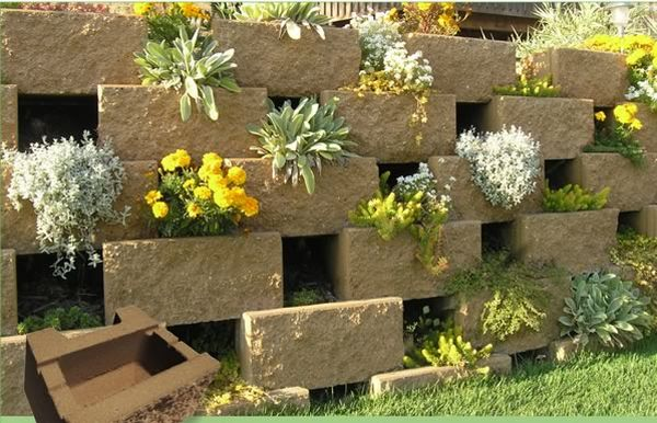 Plantable Retaining Walls