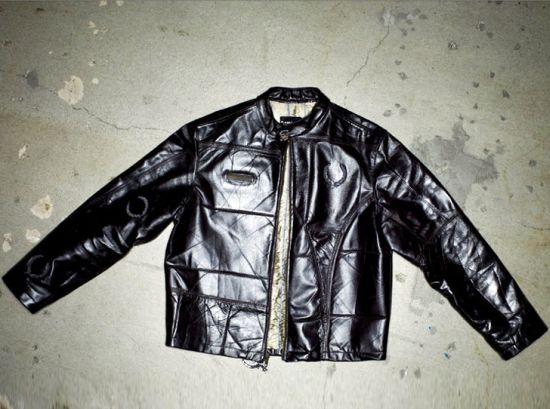 platinum road recycled leather jacket 4
