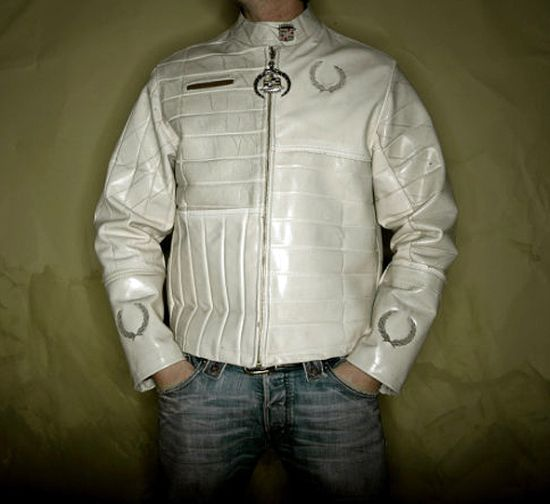 platinum road recycled leather jacket 6