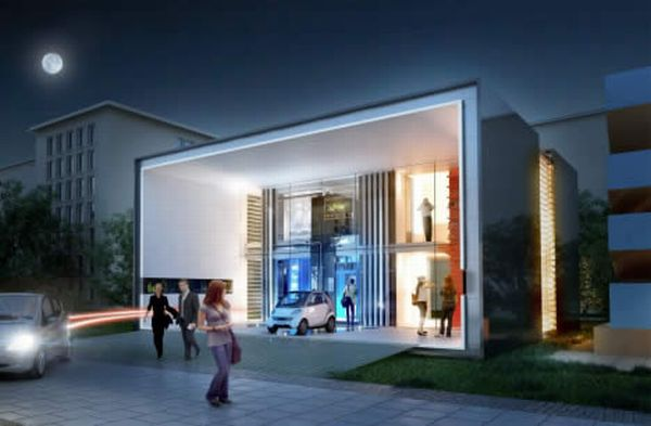 Plus-Energy House with Electromobility
