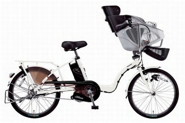 power assisted bikes with 2 child seats 2