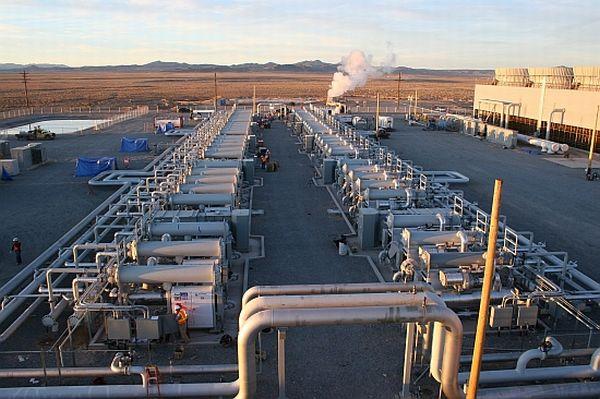Raser Geothermal power plant