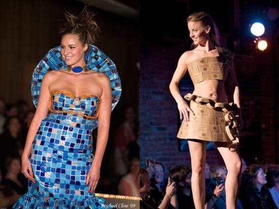 re stores trash fashion show2
