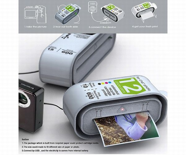 Recyclable Photo Printer