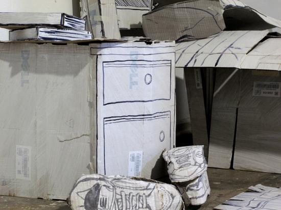 recycled cardboard art by don lucho 2
