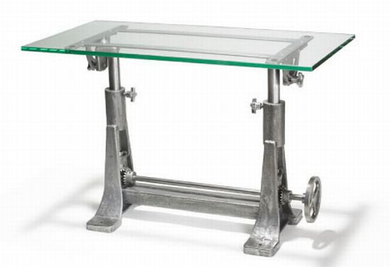 recycled factory machinery furniture 2