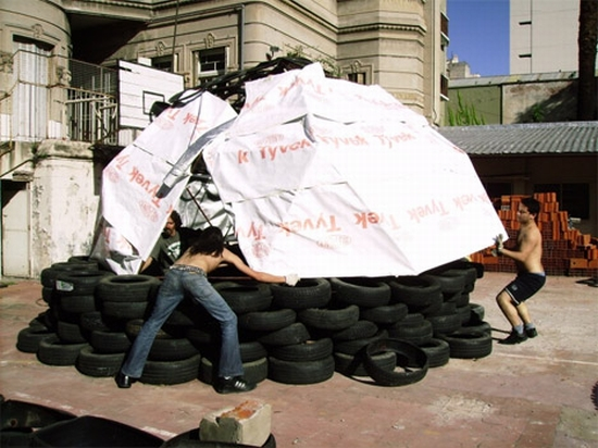 recycled tires home for haiti7