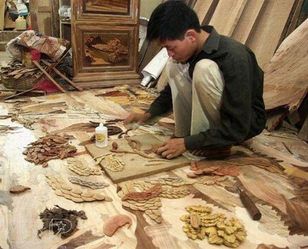 recycled wood mosaics2