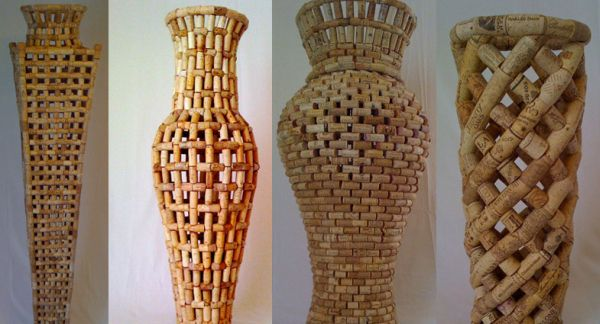 recycled cork art