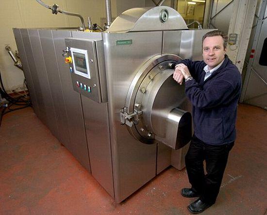 resomator cremation machine