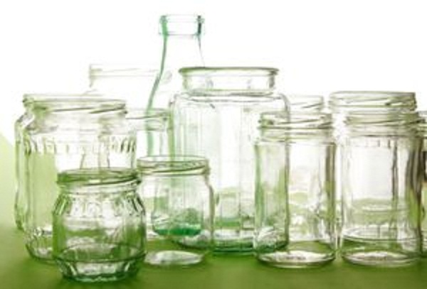 Reuse glass jars
