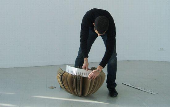 rocking cardboard chair8