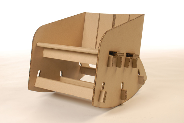 A Cardboard Chair Can Get You Rocking