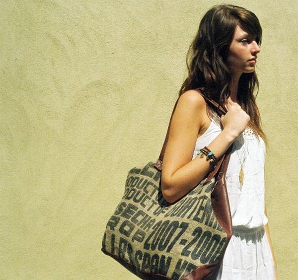 Roxwell upcycled luxury handbag