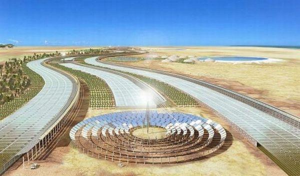 Sahara Solar Plant