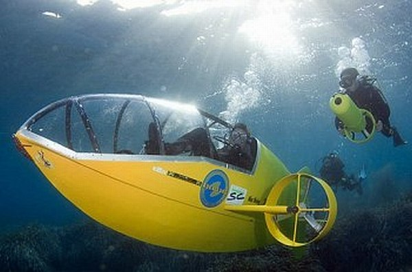 Scubster Pedal-Powered Submarine