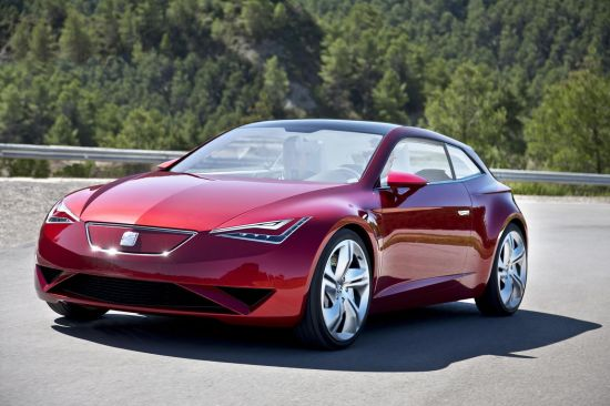 seat ibe all electric sports coupe 4