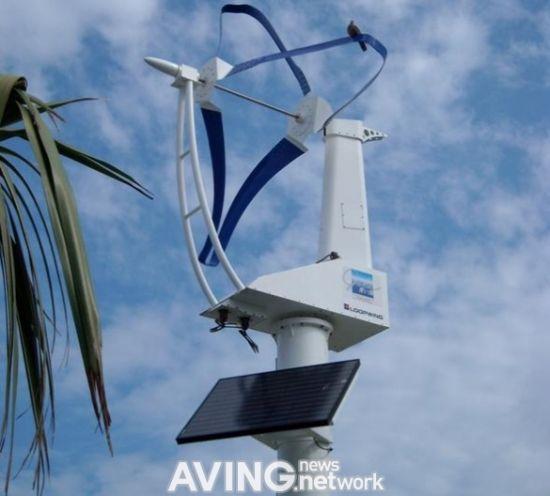 self powered streetlight wind energy generator 1