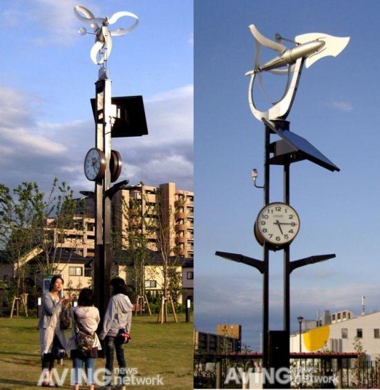 self powered streetlight wind energy generator 2