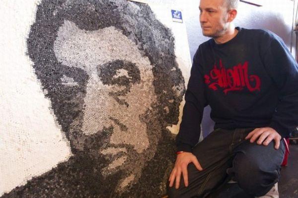 Serge Gainsbourg's portrait