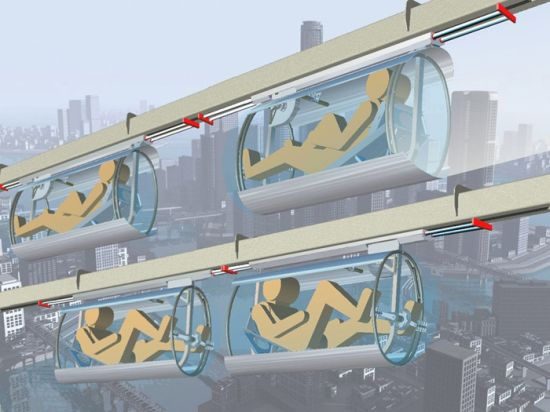shweeb monorail for human powered vehicles 3