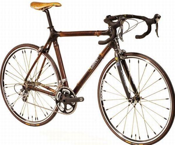 Smoked Bamboo Bike