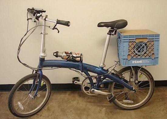 solar bike stereo