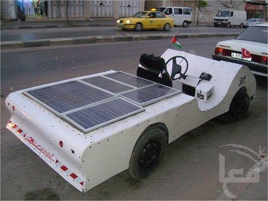 solar powered electric car 1