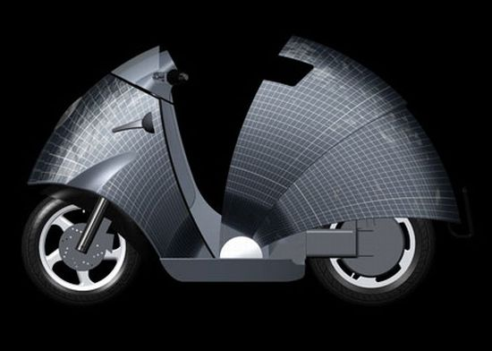 solar powered moped 3