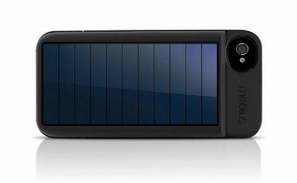 solar energy generating iPhone cases